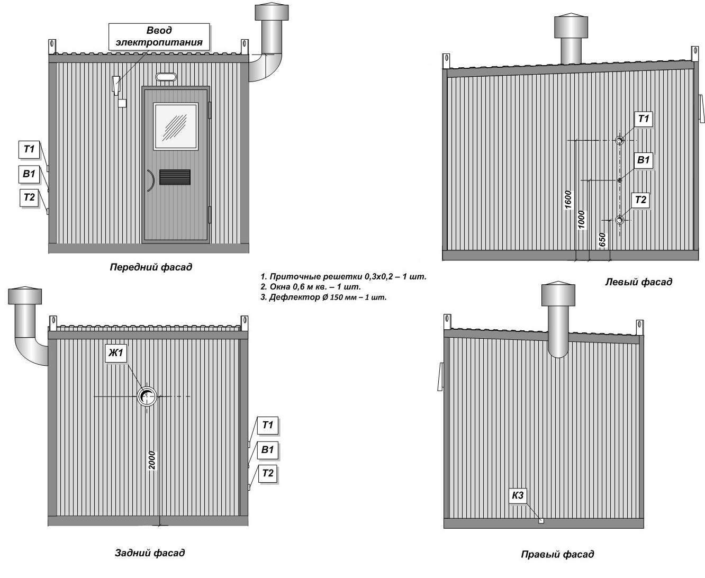 Transportable modular boiler station